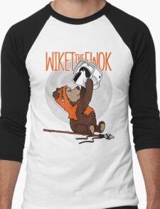 Wiket the Ewok! Men's Baseball ¾ T-Shirt