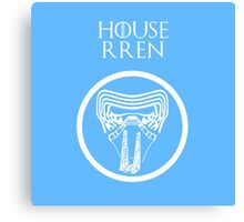 """House Rren"" - Disney Meets Game of Thrones Canvas Print"