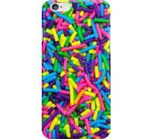 Colorful candy sprinkles iPhone Case/Skin