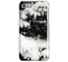 Remembering snow iPhone Case/Skin