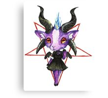 Stylish Baphomet Canvas Print