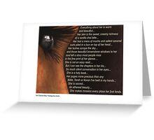 November - Inspired Love Greeting Card