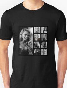 Blake Lively black and white T-Shirt