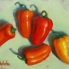 Petite Peppers by Margaret Stockdale