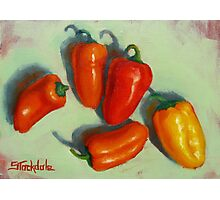Petite Peppers Photographic Print