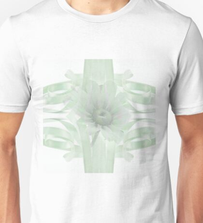 Green Gloriosa Daisy In Ribbon Unisex T-Shirt