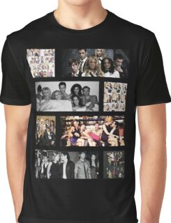 Gossip Girl Cast Graphic T-Shirt