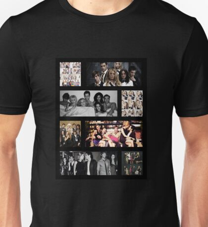 Gossip Girl Cast Unisex T-Shirt