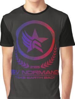 Mass Effect - Take Earth Back Graphic T-Shirt