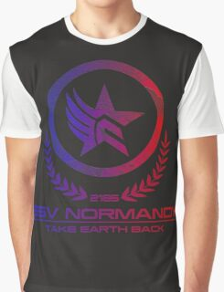 Mass Effect - Take Earth Back Graphic T-Shirt