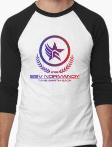Mass Effect - Take Earth Back Men's Baseball ¾ T-Shirt
