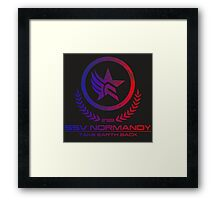Mass Effect - Take Earth Back Framed Print