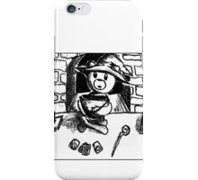 Witch Bear with Cauldron iPhone Case/Skin