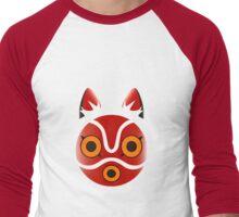 Mononoke Men's Baseball ¾ T-Shirt