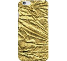 Glossy gold foil   iPhone Case/Skin