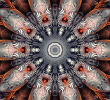 Sculpture Kaleidoscope Pattern  by fantasytripp