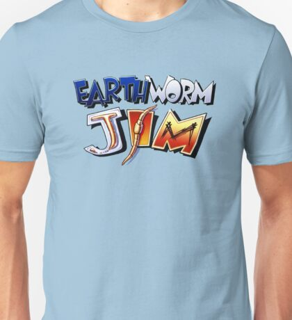 Earthworm Jim Logo Unisex T-Shirt
