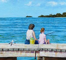 Fishing with Mum by Cary McAulay