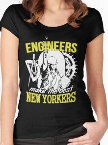 Best Engineer New Yorker Shirt Women's Fitted Scoop T-Shirt