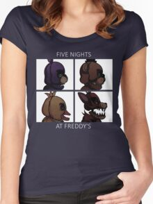 FNAF Women's Fitted Scoop T-Shirt