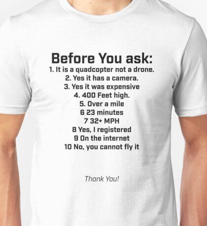 Drone Shirt Unisex T-Shirt