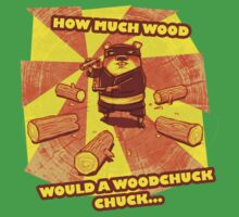 How Much Wood Would a Woodchuck Chuck Baby Tee