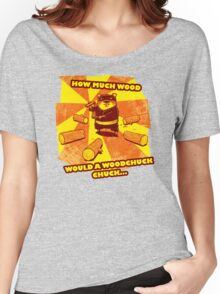 How Much Wood Would a Woodchuck Chuck Women's Relaxed Fit T-Shirt