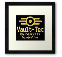 V-T University Framed Print