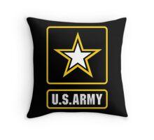 US Army Logo Throw Pillow