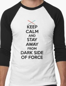 Keep Calm Dark Side Men's Baseball ¾ T-Shirt