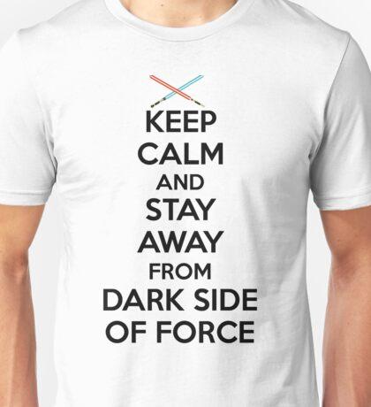 Keep Calm Dark Side Unisex T-Shirt
