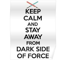 Keep Calm Dark Side Poster