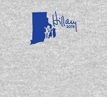 Hillary 2016 State Pride Signature - Rhode Island Unisex T-Shirt