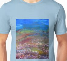 All the fields are cheerful, all the birds are singing! Unisex T-Shirt