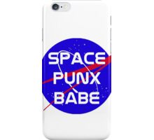 Space Punx Babe iPhone Case/Skin