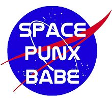 Space Punx Babe by cometart