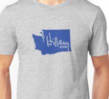 Hillary 2016 State Pride Signature - Washington Unisex T-Shirt