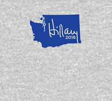 Hillary 2016 State Pride Signature - Washington Unisex T-Shirt