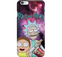 Rick Morty Galaxy iPhone Case/Skin