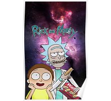 Rick Morty Galaxy Poster