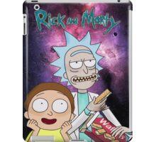 Rick Morty Galaxy iPad Case/Skin