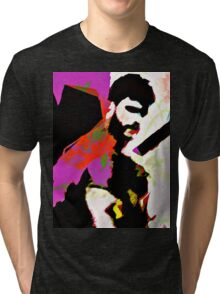 Bearded Poppy Duo #1 Tri-blend T-Shirt