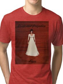 Lizzy Bennet from Pride and Prejudice Tri-blend T-Shirt