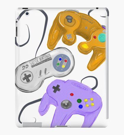 Nintendo Controller Evolution iPad Case/Skin
