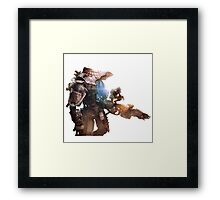Titanfall Army  Framed Print