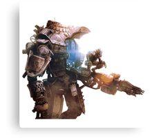 Titanfall Army  Canvas Print
