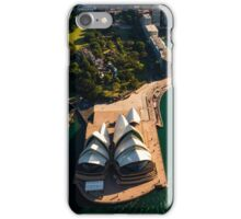 Aerial Circular Quay iPhone Case/Skin