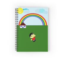 Illustration for Children Spiral Notebook