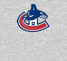 Vancouver Canucks - Montreal Canadiens Logomash Unisex T-Shirt