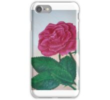 Rose of the afternoon iPhone Case/Skin